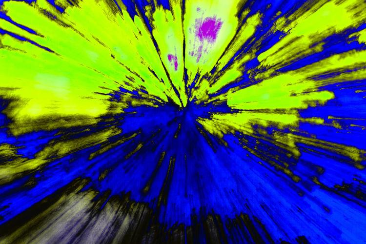 Full frame shot of blue flower
