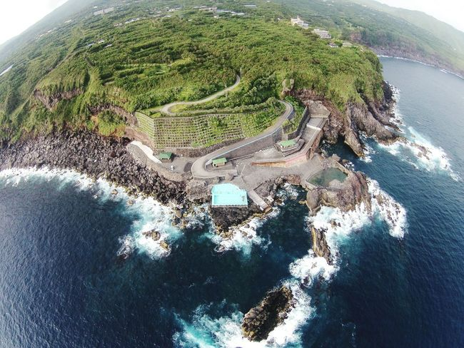 Summer Beauty 2015 Sea Dronephotography Hachijo-island