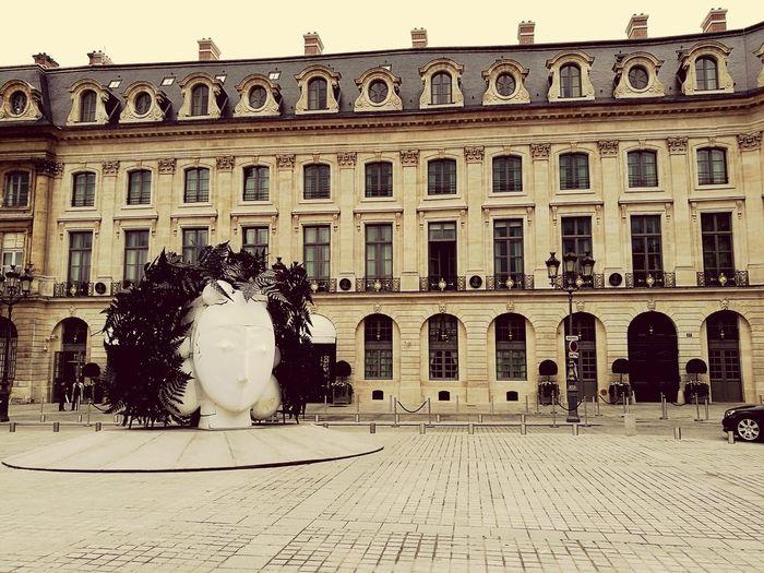 Street Art Paris ❤ Paris, France  Architecture Hotel Ritz