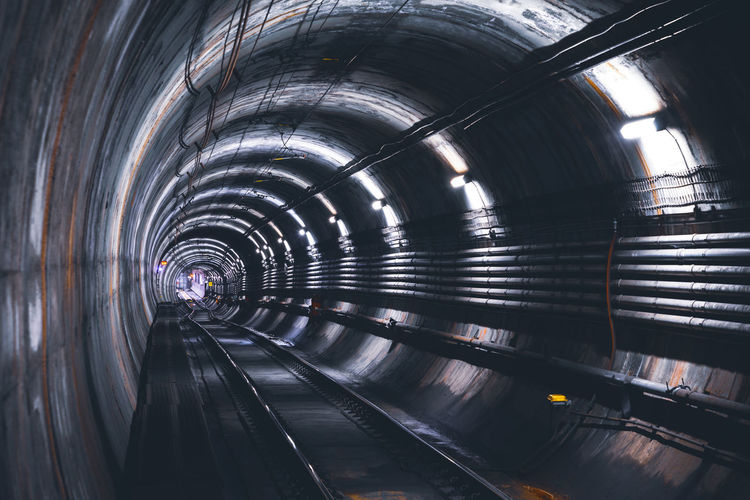 City Tunnel Water Architecture Built Structure Subway Underpass Subway Platform Underground Underground Walkway Platform Commuter Train Hand Rail Subway Station Subway Train