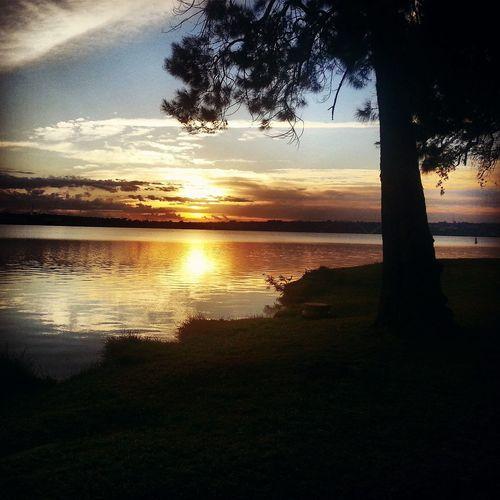 Sunrise Sunriseporn Nascerdosol Brasil Sol Natureza Picoftheday Lake Lagoparanoa Sun_collection