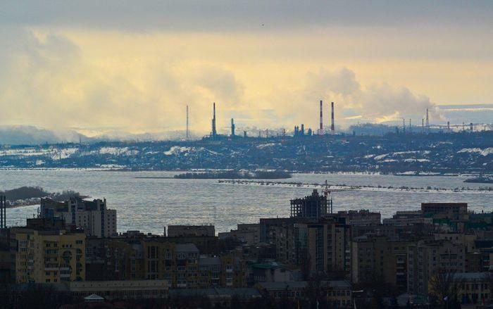 No People City Industry Sky Day город Саратов Saratov Саратов 64 заводы