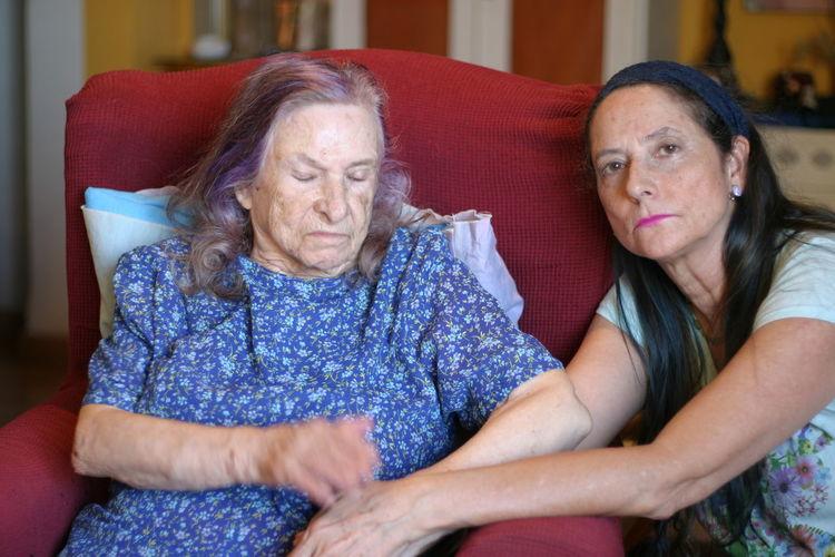 Senior Women At Home