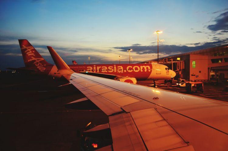 Parked at Kuala Lumpur International Airport, on my way to Jakarta KLIA2 Klia Kuala Lumpur Air Asia Backpacking Airport