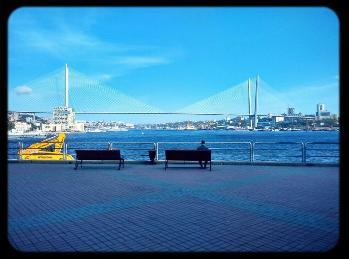 Sea And Sky Loneliness Vladivostok Meditation владивосток Дальний восток мост Море дзен релакс