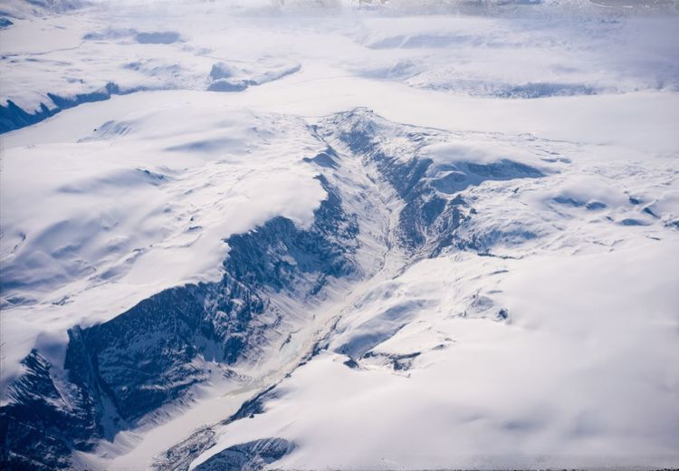Greenland from above Grönland Greenland Snow Winter Cold Temperature Environment Scenics - Nature Beauty In Nature White Color Landscape Nature Mountain Tranquility Tranquil Scene Non-urban Scene No People Day Aerial View Snowcapped Mountain Covering Idyllic
