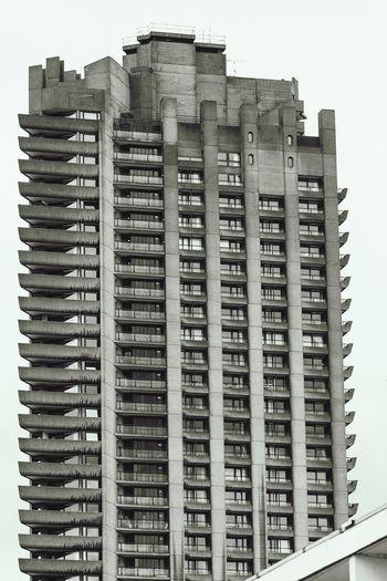 Lauderdale Tower, London. Blackandwhite Black&white London Architecture Details Tower