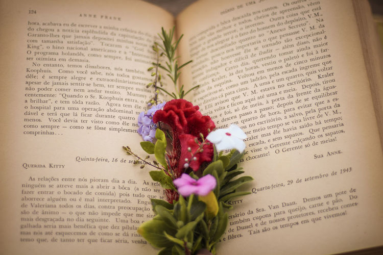 #Nature  #annefrank #book #love Book Communication Day Education Flower Literature Page Text