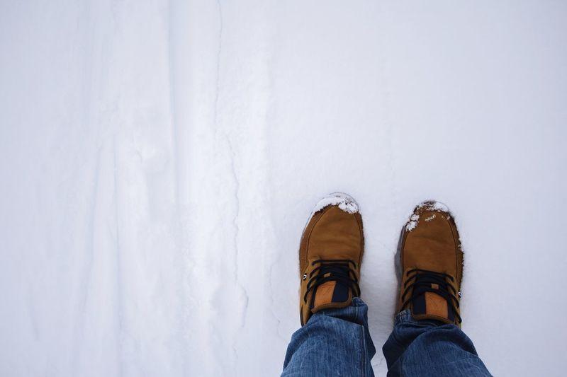 I'm a photographer. Not a skier. Snow Austria Skiing Ski Trip Glacier That's Me Feet Shoes