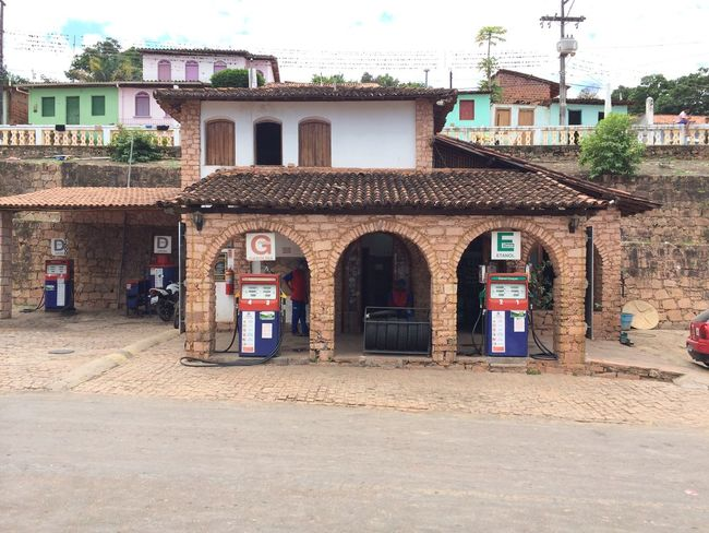 Architecture Brick Wall Building Exterior Built Structure Culture Day Façade Gasstation Historic House Old Outdoors Wall