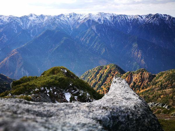 Mountain Mountain Range Beauty In Nature Landscape Scenics Outdoors Mountain Peak Cloud - Sky Travel Destinations Nature No People Sky Alpinism Randonnée Montagne Japan Japon