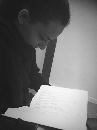 reading some psychology.