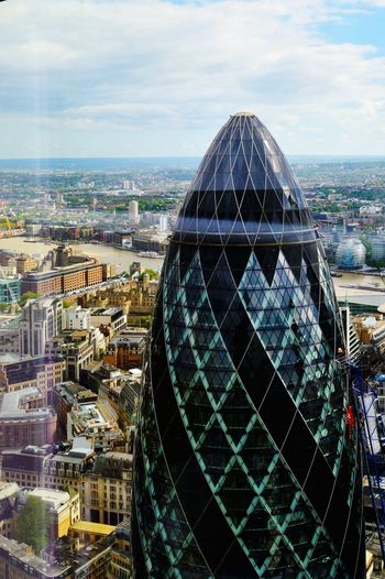 The Architect - 2017 EyeEm Awards Cityscape City Building Exterior Architecture Thisislondon London LONDON❤ Londonphotography Modern Built Structure Business Finance And Industry Thegherkin Thamesriver Duckandwaffle Postcode Postcards