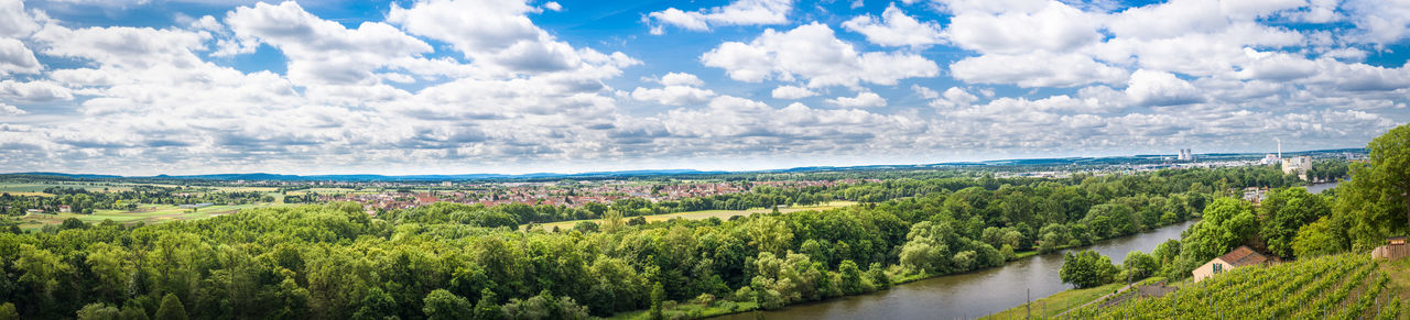 Panorama view Clouds Countryside EyeEm EyeEm Best Edits EyeEm Best Shots EyeEm Gallery EyeEm Nature Lover EyeEmBestPics Forest German Germany Landscape Nature Nature Panorama Panoramic Panoramic River Sky Sky And Clouds Summer Summertime Trees Village Vineyard