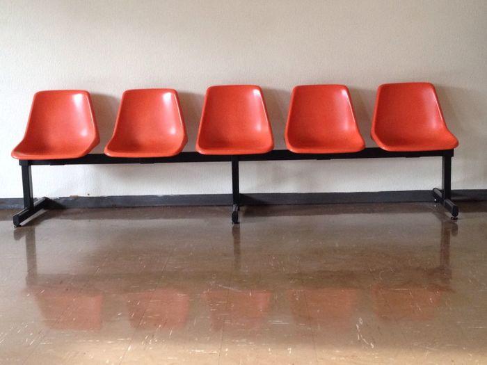 Waiting. Chair