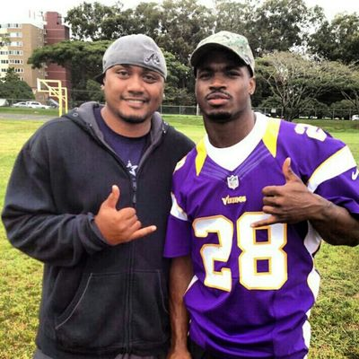 future Hall of Famer AP #28 #Vikings