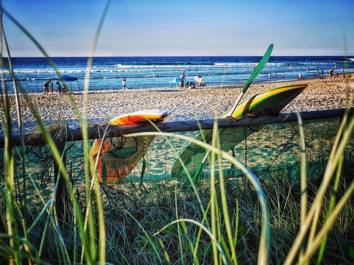 Beach life, Gold Coast Seaside Shore Ocean Beach Sand Horizon Waves Gold Coast Queensland Australia Kayak Paddle Board