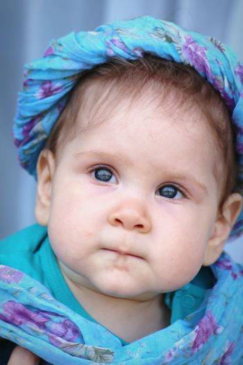 Baby Babymodel Babyface Baby Love  Babygirl Scarf