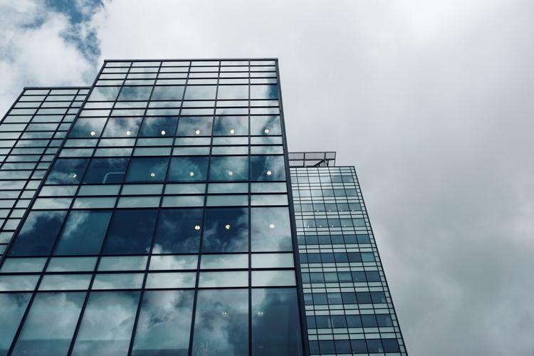2019 Niklas Storm Juli City Futuristic Modern Skyscraper Office Window Reflection Finance Business Sky Office Block Financial District  Tall - High Glass Urban Skyline The Architect - 2019 EyeEm Awards My Best Photo