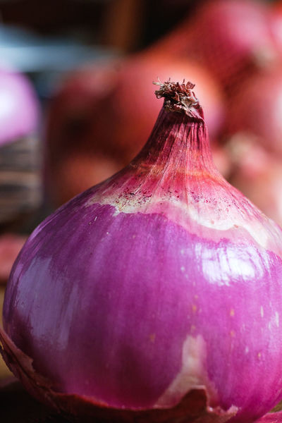 Close-up Day Fig Focus On Foreground Food Food And Drink Freshness Fruit Healthy Eating Onion Organic Outdoors Pink Color Purple Selective Focus Still Life Vegetable Wellbeing