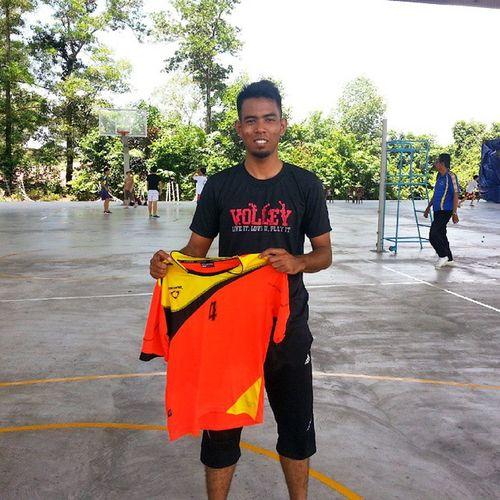 :: Tamat sudah... Alhamdulillah... Tahniah kepada team Volleyball Zon Utara memenangi pingat emas... Pestasukanhasilsemalaysia Emasutntukkami Tiadalaginombor7