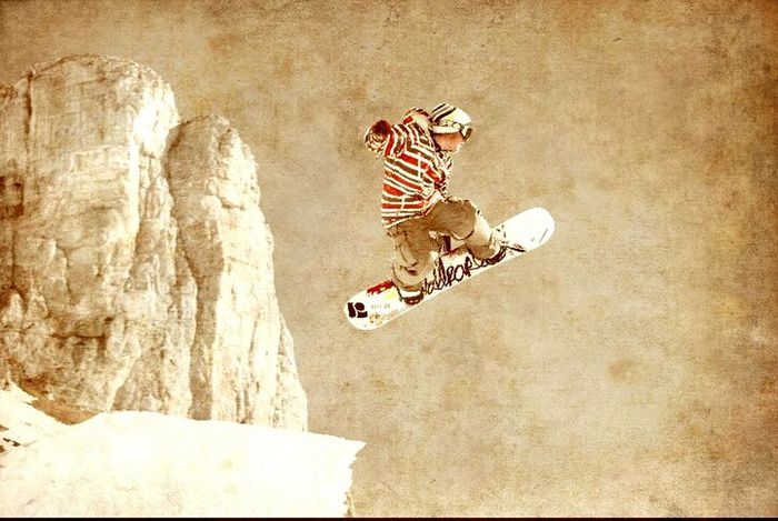 Snowboard Snow Snowboard Winter Sport Freestyle Enjoying Life