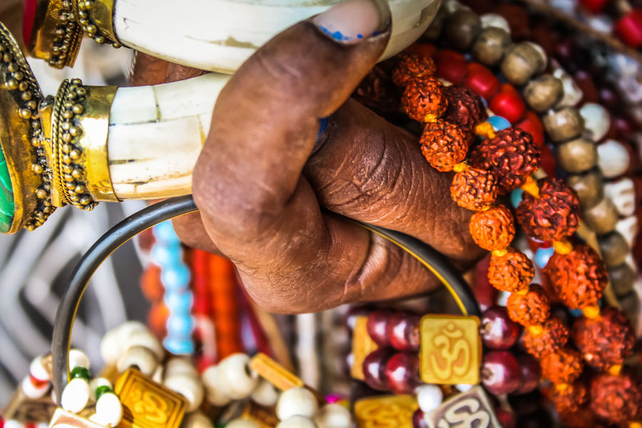 jewelry sold in southern India India Close-up Day Human Body Part Human Hand Indoors  Jewelry Men One Person Pearls People Real People