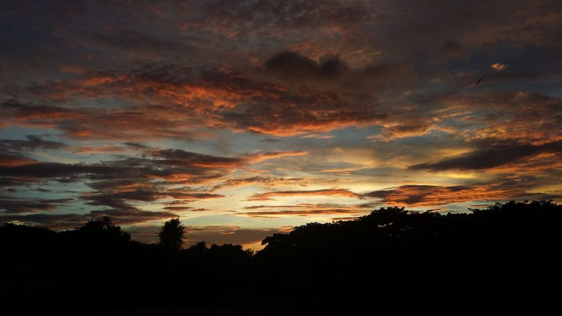 Sunset Dramatic Sky Dark Beauty In Nature Cloud - Sky Sky