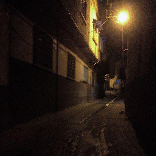 Birecik at Night Şanlıurfa Turkey