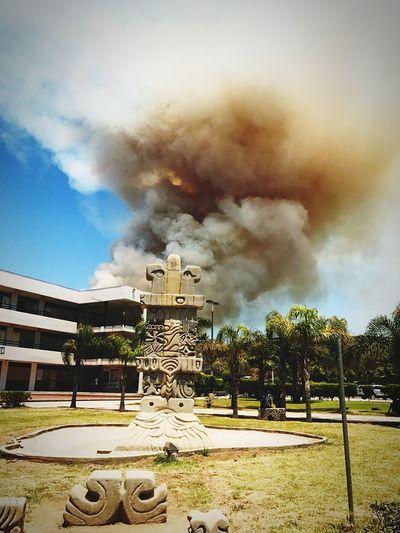 Fuego en la cuidad First Eyeem Photo