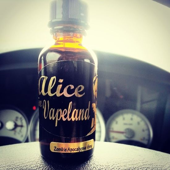 Newest edition to my collection ♥ AliceInVapeLand Zombieapocalypse VapeLife VapeCollection GirlsWhoVape vapestagram