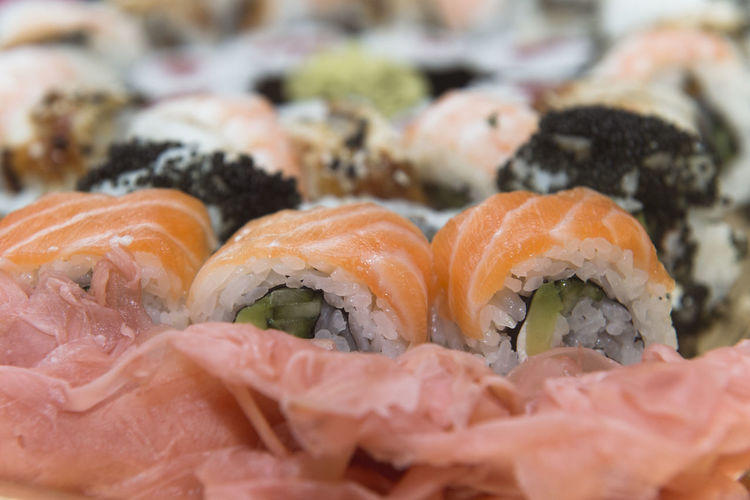 sushi Sushi Animal Asian Food Caviar Close-up Fish Food Food And Drink Freshness Healthy Eating Indoors  Japanese Food No People Ready-to-eat Rice Sashimi  Seafood Selective Focus Still Life Sushi Sushi Time Vertebrate Wellbeing
