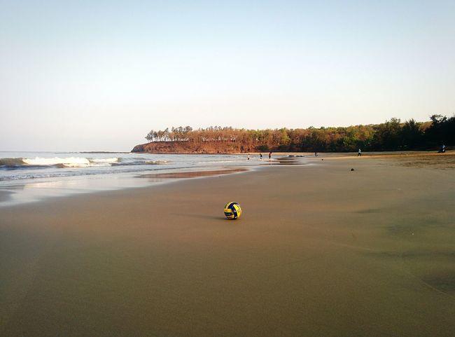 Lukewarm Morning Beach Beachphotography Volleyball Beachvolleyball Konkan Konkandiaries Kashid Maharashtra India Breathing Space