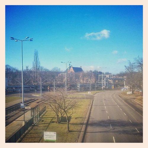 Gdańsk Wrzeszcz 10:00 rano :) Zima po całości :) Trojmiasto 3city My3miasto Ilovegdn gdansk gdansk_official wrzeszcz pomorze pomorskie remik fotomagik