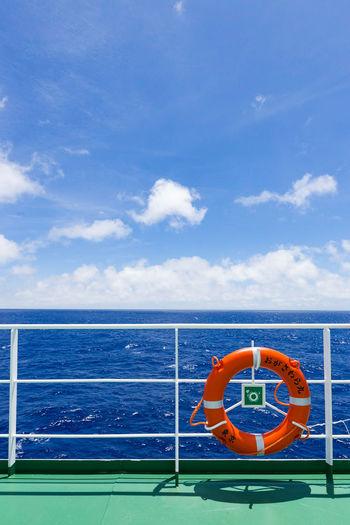 Blue Cloud - Sky Day No People Ogasawara Island Ogasawaramaru Sea Sea And Sky Sky