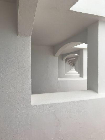 Architecture Built Structure Steps And Staircases White Color Staircase Indoors  Architectural Column