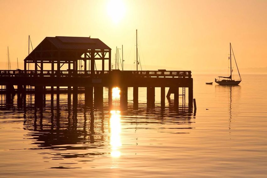 Port Townsend Washington State Pacific Northwest  Sunrise DSLR Canon5dmark3