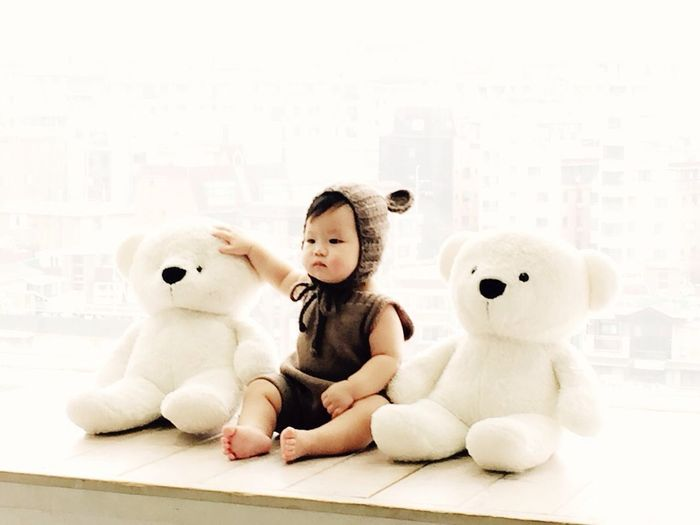 My Nephew Name Is Noah Babyboy Have A Nice Day♥ Cute Teddy Bear South Korea