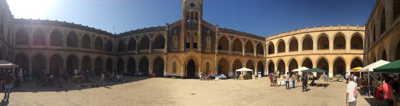 Sicily Architecture Panorama Walking