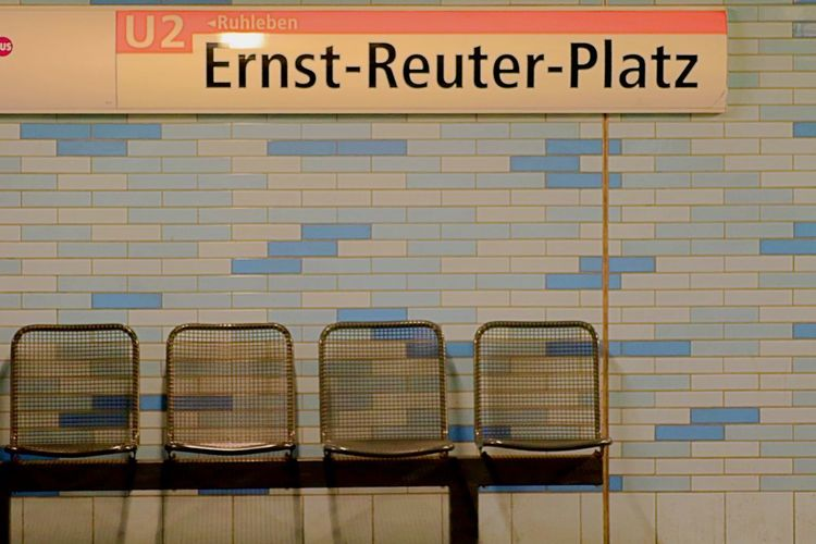 U2 Station Architecture Built Structure Chairs Communication Day Ernst-reuter-platz Guidance Indoors  No People Seats Row Subway Station Text Western Script