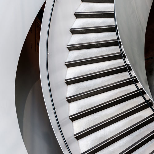 Abstract Photography Abstract Architecture Built Structure Close-up Day Indoors  Low Angle View No People Spiral Staircase Staircase Steps Steps And Staircases