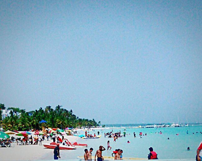 People Of The Oceans Beach Caribbean Republica Dominicana Boca Chica