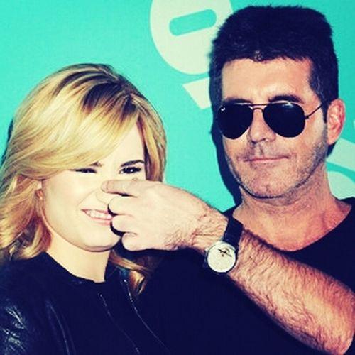 Demi Lovato Simon Cowell Xfactor LOVE THEM