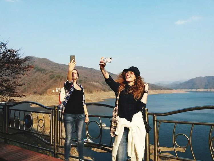 When u like to make a selfie)) Selfies Mountains Lakes  Korea Enjoying Life Traveling Trip Hapinness Welcome Weekly