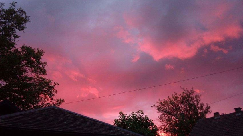 Noeffect Last Year Beautiful Sky Pink Sunset Beauty In Nature Cloud - Sky Dramatic Sky Rear View Interesting Perfect