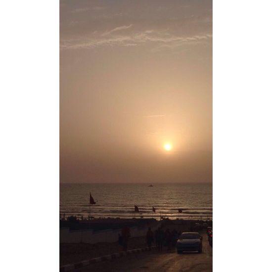 Beach Sunset Orange