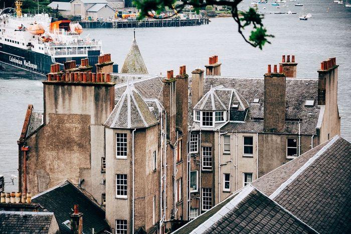 Oban buildings   Oban Landscape Landscape_Collection Landscape_photography Landscapes Scotland Eyeem Scotland  Highlands Ship Sea