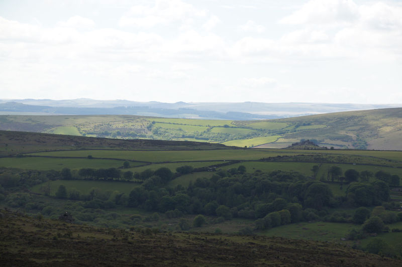 Light and Shadows playing across Dartmoor Light And Shadow Landscape Scenics - Nature Tranquil Scene Sky Beauty In Nature Tranquility Land Nature Field No People Rural Scene Day Green Color Outdoors Agriculture Idyllic Growth Rolling Landscape Fields Overcast