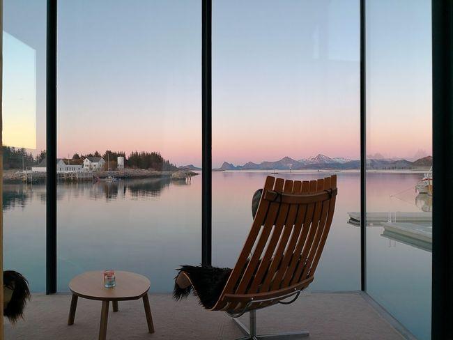 Manshausen island View Sunset Design Norway Manshausen