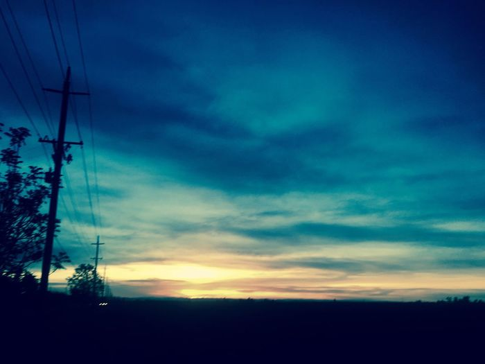Cali Sky Electricity Pylon Sunset Dusk Nature Low Angle View Beauty In Nature Outdoors Tranquil Scene First Eyeem Photo